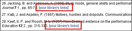 Outbound OpenURL links in Informaworld