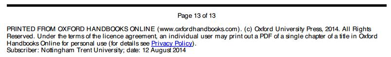 Oxford Handbooks Online -  download limits