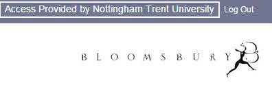 Bloomsbury Collections - Access provided by Nottingham Trent University