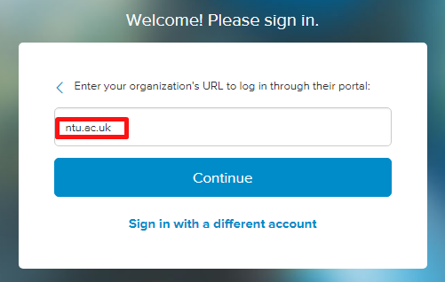 Lynda.com - organisational affiliation identifier