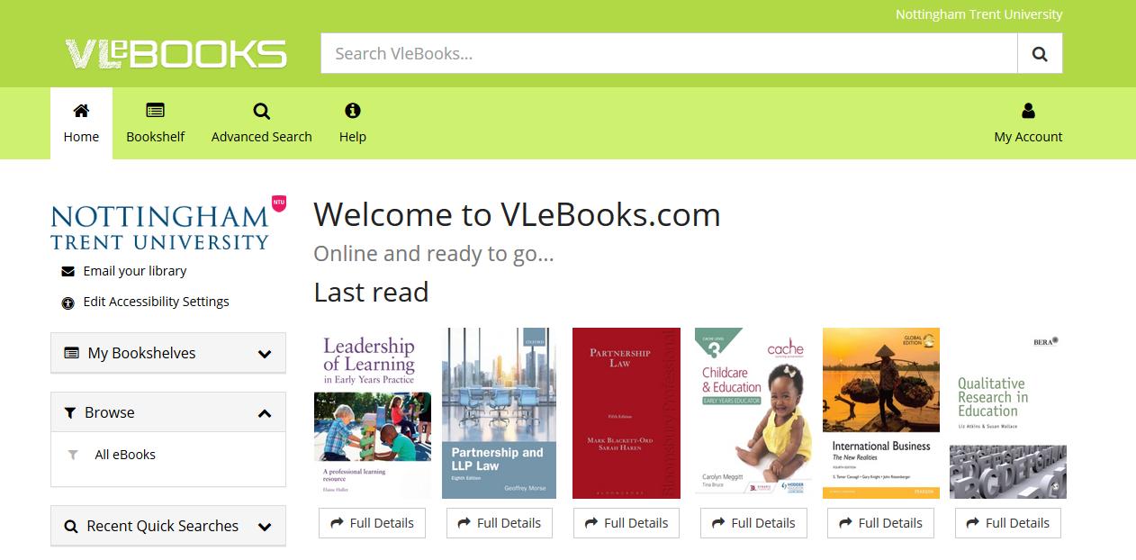 VLebooks.com home page