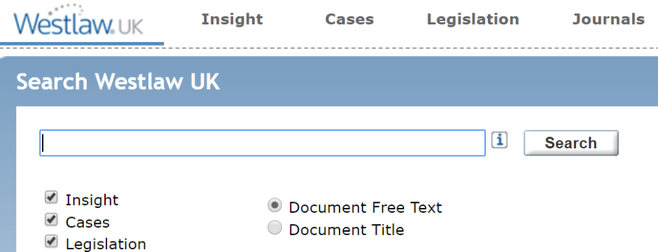 Westlaw - IP authenticated access