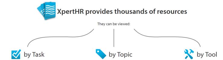 The XPertHR platform