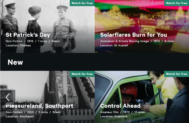 BFI Player - Free collection