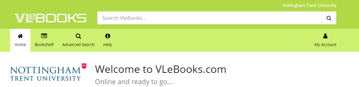 VLeBooks home page banner