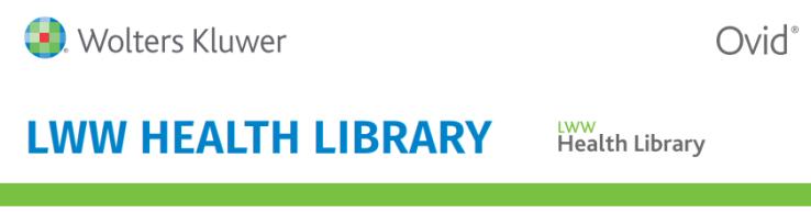 LWW Health Library logo