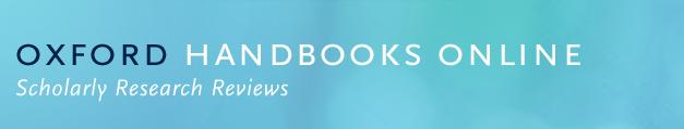 Oxford Handbooks Online header logo