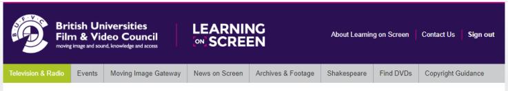 TRILT homepage screenshot