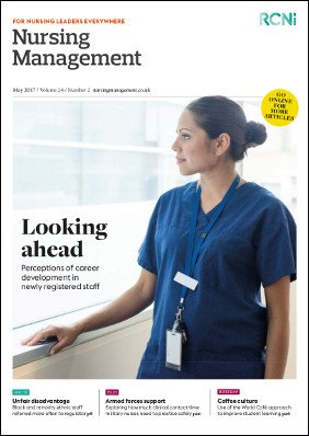 Front cover of Nursing Management journal