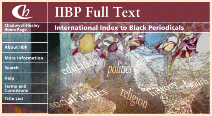 International Index to Black Periodicals